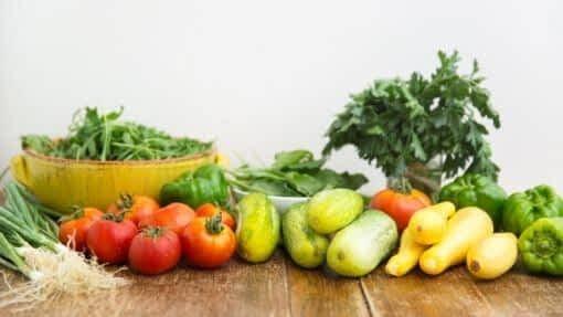 locavore fresh vegetables